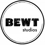 BEWTstudios White Pin logo Shirt Design